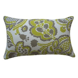 Garden Lime Outdoor Throw Pillow