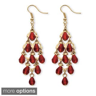 Goldtone Brass Pear-Cut Crystal Chandelier Earrings|https://ak1.ostkcdn.com/images/products/9164426/Lillith-Star-Birthstone-Chandelier-Earrings-P16342313.jpg?impolicy=medium