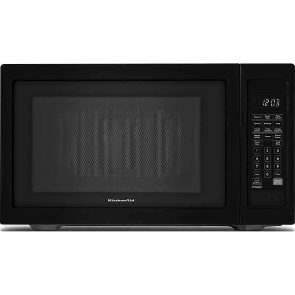 KitchenAid Black 1.6-cubic-foot Countertop Microwave - Free Shipping ...