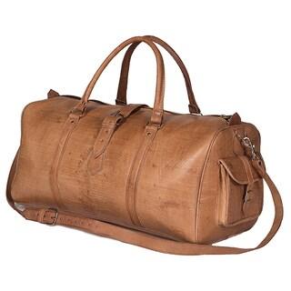 Handmade Large Tan Moroccan Leather Duffel Bag (Morocco)|https://ak1.ostkcdn.com/images/products/9164674/Handcrafted-Large-Moroccan-Leather-Duffel-Bag-Morocco-P16342339.jpg?_ostk_perf_=percv&impolicy=medium