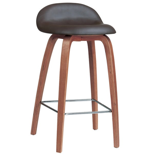 Bent Wood Counter Stool Free Shipping Today Overstock