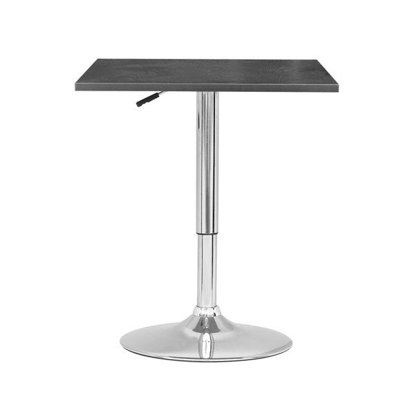 CorLiving Adjustable Height Square Bar Table