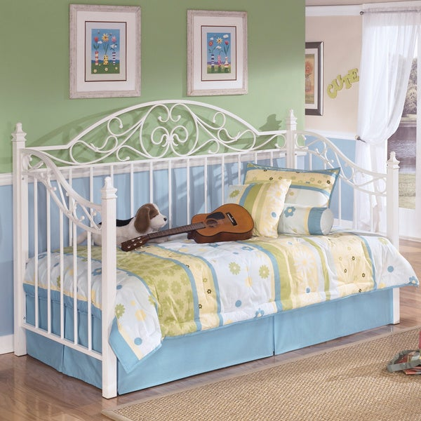 Ashley Home Stores Furniture: Shop Signature Designs By Ashley Exquisite White Metal Day