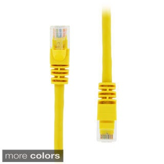 GearIT RJ45 CAT5E 7-feet Molded Ethernet Network Patch Cable (Pack of 20)