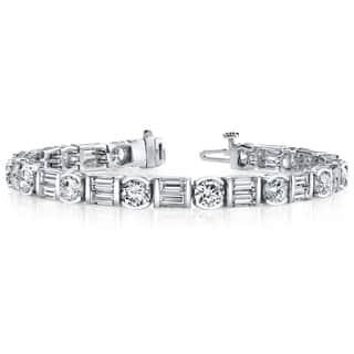14k White Gold 8 1/2ct TDW Diamond Tennis Bracelet|https://ak1.ostkcdn.com/images/products/9165044/14k-White-Gold-8-1-2ct-TDW-Diamond-Tennis-Bracelet-F-G-SI2-SI3-P16342825.jpg?impolicy=medium