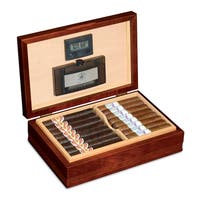American Chest Company Delaware Solid American Cherry Hardwood Humidor