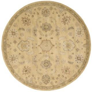 Nourison Jaipur Light Gold Rug (6' x 6)