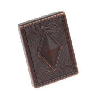 GlideRite 1.375-inch Diamond Series Oil Rubbed Bronze Square Cabinet Knobs (Pack of 10)