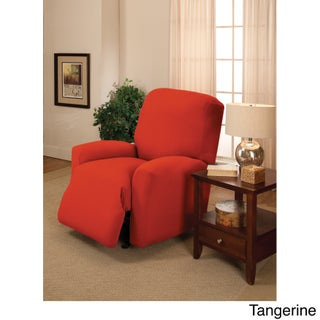 Sanctuary Large Stretch Jersey Recliner Slipcover (Option: Tangerine)