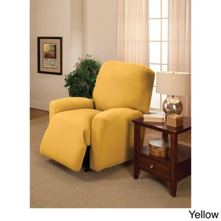 Sanctuary Large Stretch Jersey Recliner Slipcover (Option: Yellow)