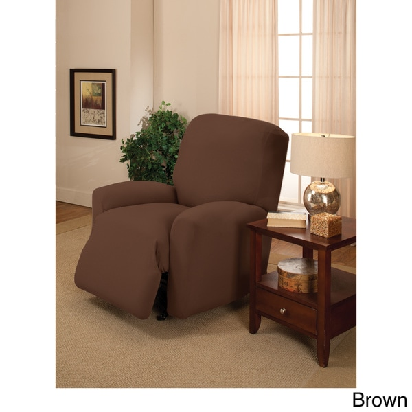 Large Stretch Jersey Recliner Slipcover Free Shipping On