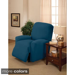 Sanctuary Large Stretch Jersey Recliner Slipcover|//ak1.ostkcdn.com  sc 1 st  Overstock.com & Recliner Covers \u0026 Wing Chair Slipcovers - Shop The Best Deals for ... islam-shia.org