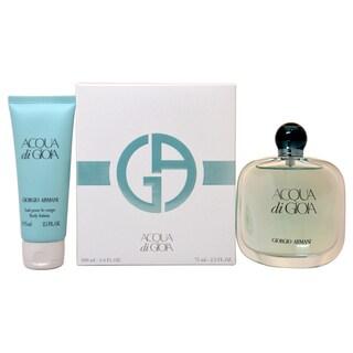 Giorgio Armani Acqua Di Gioia Women's 2-piece Gift Set|https://ak1.ostkcdn.com/images/products/9165293/P16342987.jpg?_ostk_perf_=percv&impolicy=medium
