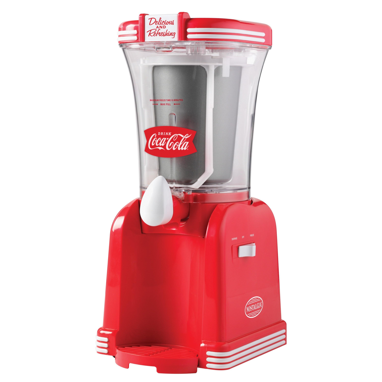 Nostalgia RSM650COKE Coca-Cola 32 oz. Slush Drink Maker (...