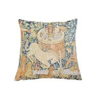 Corona Decor French Woven Animal Design Decorative Throw Pillow