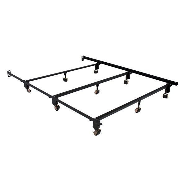 serta stabl base ultimate bed frame queen with wheels - Serta Bed Frame