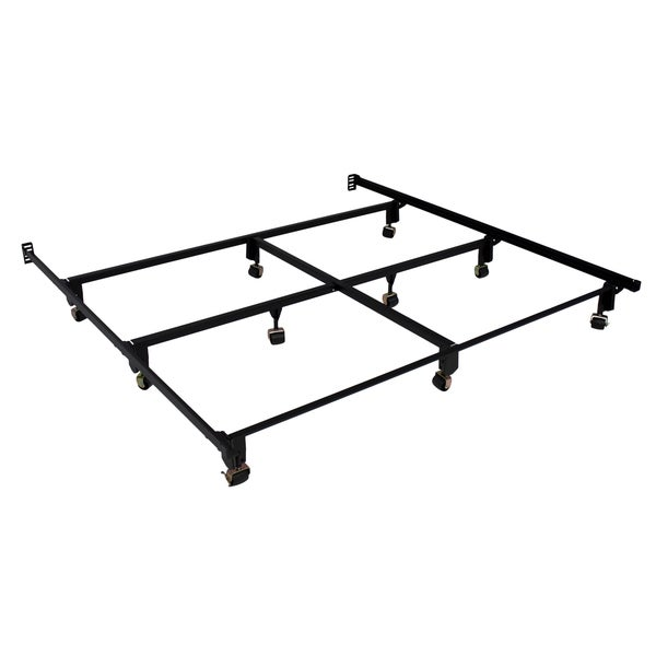 serta stabl base ultimate bed frame e king with wheels - Serta Bed Frame