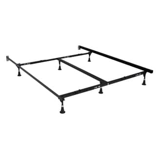 Premium Lev-R-Lock Bed Frame Twin/Full/Queen/Cal King/E. King with Glides