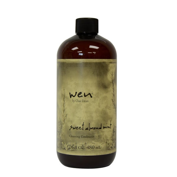 Wen Shampoo And Conditioner >> Shop Wen Sweet Almond Mint Cleansing 16-ounce Conditioner - Free Shipping On Orders Over $45 ...