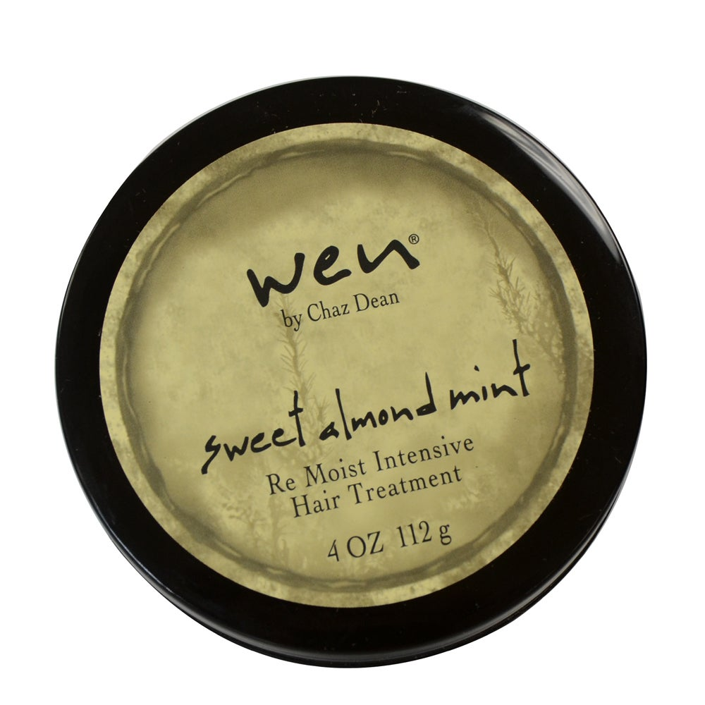 Wen Sweet Almond Mint Re Moist Intensive 4-ounce Hair Tre...