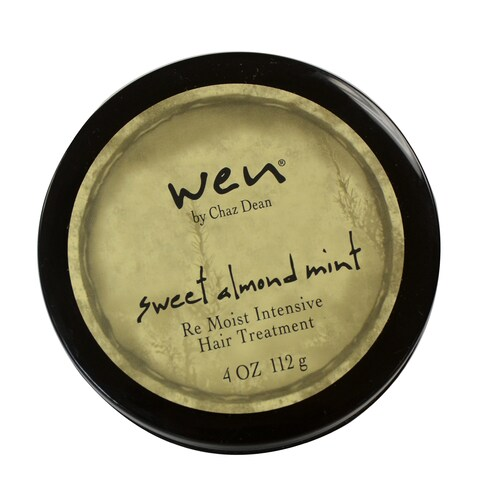 Wen Sweet Almond Mint Re Moist Intensive 4-ounce Hair Treatment