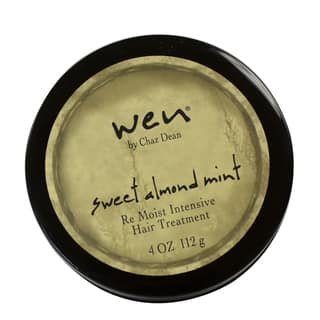 Wen Sweet Almond Mint Re Moist Intensive 4-ounce Hair Treatment|https://ak1.ostkcdn.com/images/products/9165479/P16343175.jpg?impolicy=medium
