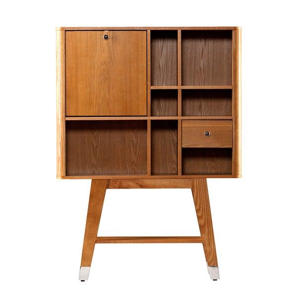 harper blvd perry midcentury modern folddown desk free shipping today - Fold Down Desk