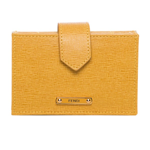 a8d8bab8dbe Shop Fendi Accordion Card Case - Free Shipping Today - Overstock ...
