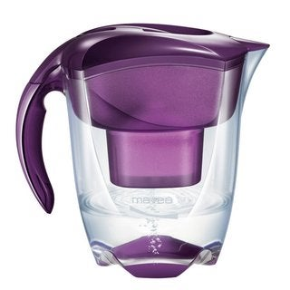 Mavea Elemaris XL Eggplant Purple Water Filtration Pitcher