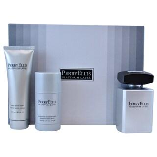 Perry Ellis Platinum Label Men's 3-piece Gift Set