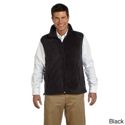 Harriton Men's 8-ounce Lightweight Fleece Vest