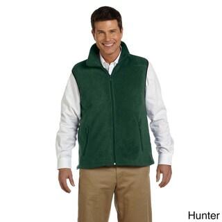 Men's 8-ounce Fleece Vest