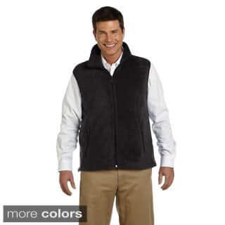 Men's 8-ounce Fleece Vest (Option: Red) https://ak1.ostkcdn.com/images/products/9165625/Mens-8-ounce-Fleece-Vest-P16343297.jpg?impolicy=medium
