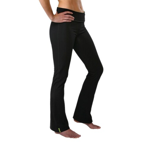 Yoga City Women's 'New York' Boot-cut Active Pants