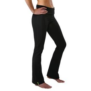 Yoga City Women's 'New York' Boot-cut Active Pants|https://ak1.ostkcdn.com/images/products/9165630/Yoga-City-Womens-New-York-Boot-cut-Active-Pants-P16343286.jpg?impolicy=medium