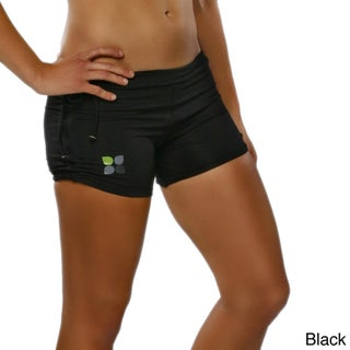 Yoga City Women's 'Miami' Active Shorts (Option: Small, Black)