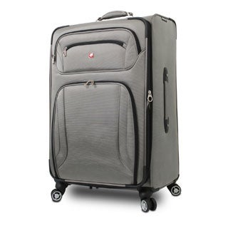 Wenger 28-inch Large Expandable Spinner Upright Suitcase