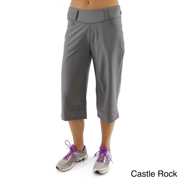 Shop Ryka Women S Stroll Moisture Wicking Stretch Capris