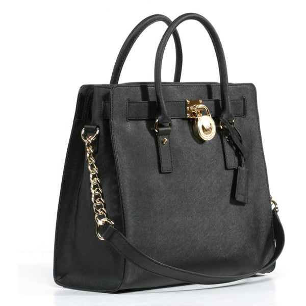 Shop Michael Kors Hamilton Large Handbag Tote Free