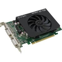 EVGA GeForce GT 730 Graphic Card - 700 MHz Core - 1 GB DDR3 SDRAM - S