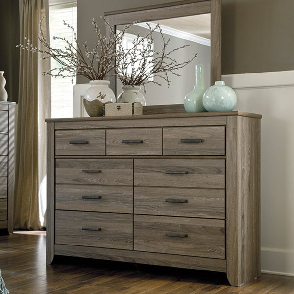 Signature Design By Ashley Zelen Grey Dresser Free