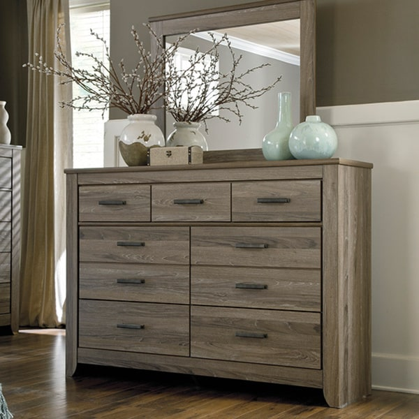 Signature Design By Ashley Zelen Grey Dresser Free Shipping Today Overstock Com 16343930