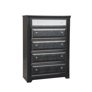 Signature Designs by Ashley 'Alamadyre' Black 5-drawer Chest