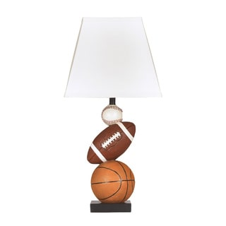 Signature Designs by Ashley Nyx Sports Balls Ceramic Table Lamp