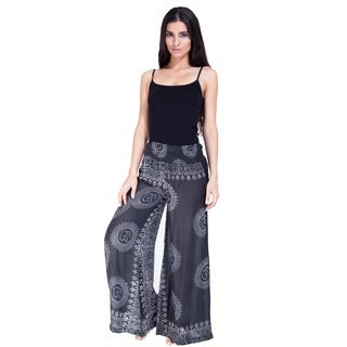 Handmade Women's Om Infused Lounge Pants (Nepal)
