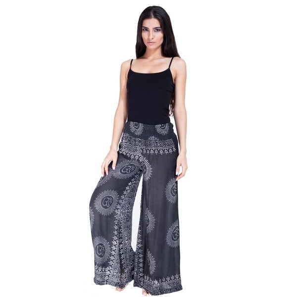 Handmade Women's Om Infused Lounge Pants (Nepal)