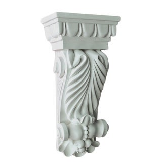 10-inch Decorative Acanthus Leaf Corbel