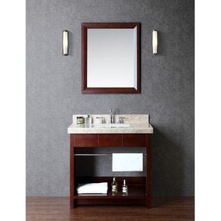 "Seabrook 36"" Single-sink Bathroom Vanity Set"