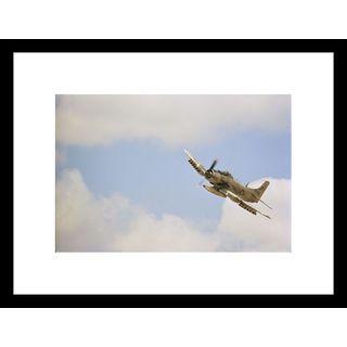 W.E. Garrett 'Military Aircraft' Framed Photo