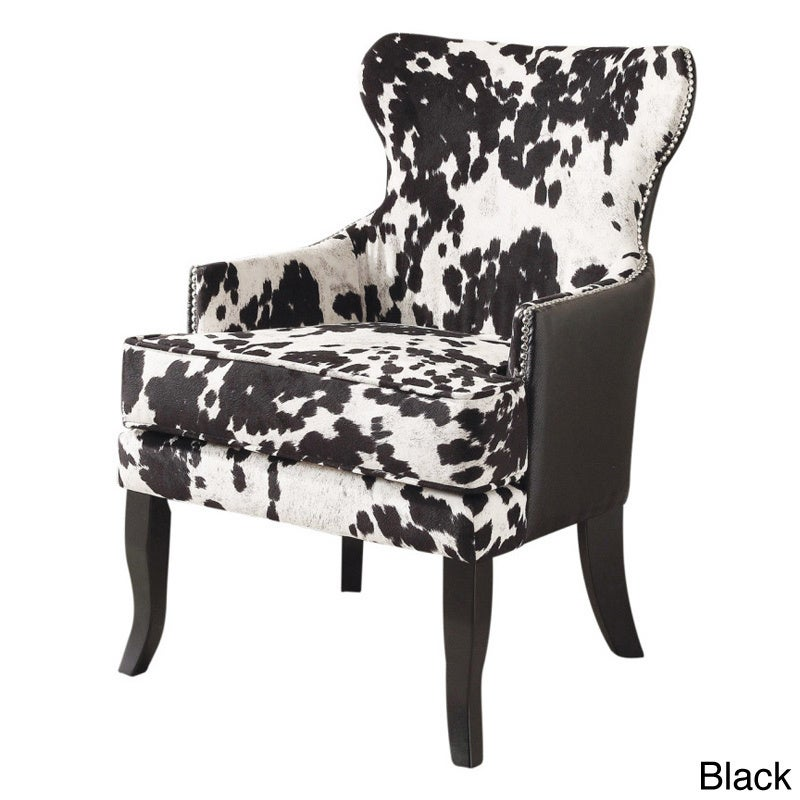 The Gray Barn Singing Elk Accent Chair (Black) (Fabric)